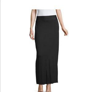 Black Maxi Skirt Size XXL
